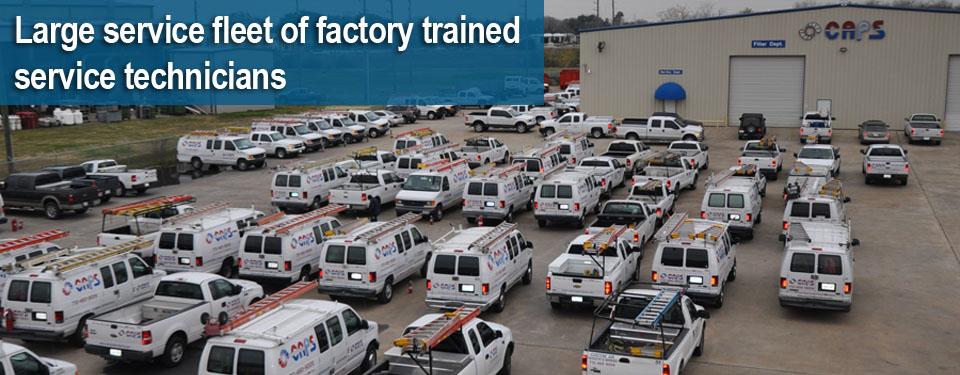 CAPS Service Fleet