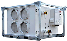 Portable 50 ton AHU