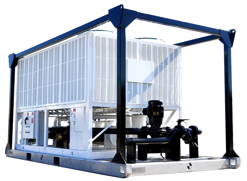 100 Ton Portable Air Cooled Chiller Package