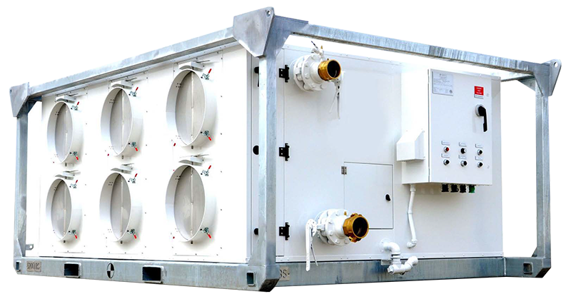 120 Ton Portable Air Handling Unit