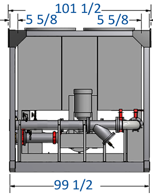 Integrated 500 GPM Pump with Bypass