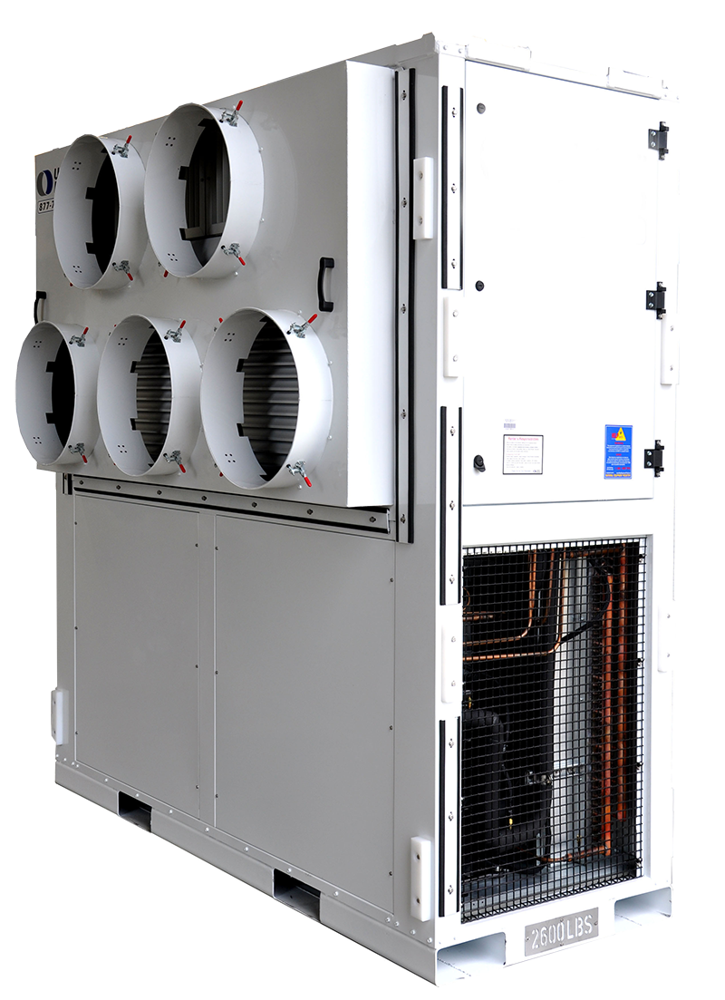 20 Ton Vertical Package Unit
