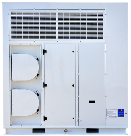 Two Additional Return Air Connections & Filter Access Panels