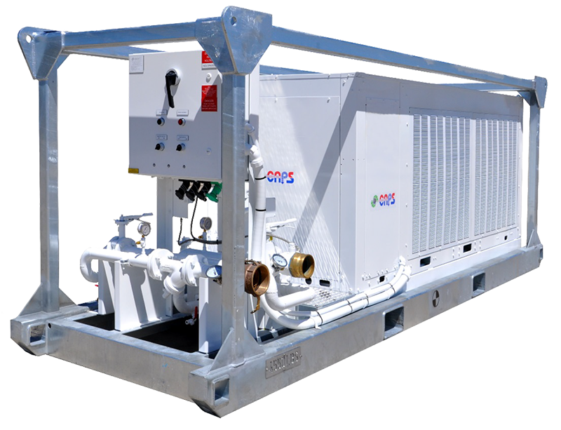 30 Ton Portable Air Cooled Chiller Package