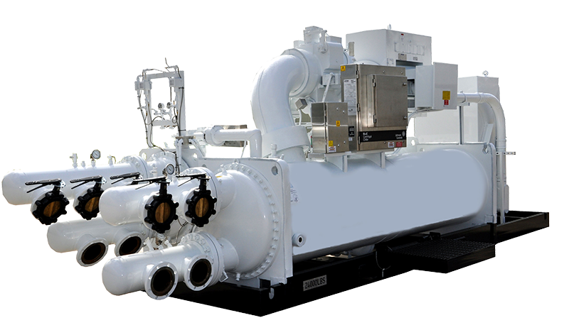 500 Ton Portable Water Cooled Chiller Package