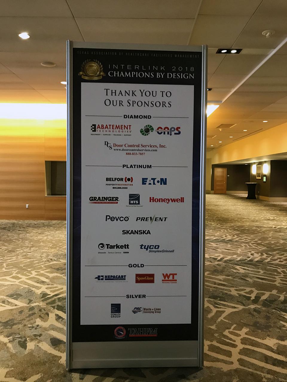 2018 Interlink Sponsors