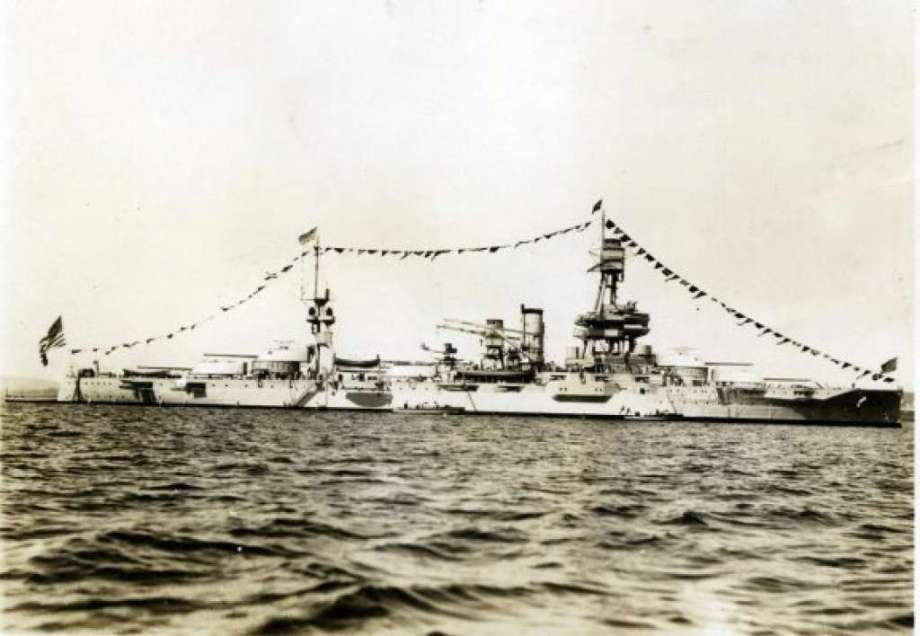 USS Battleship Texas