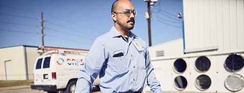 Custom Air Products Service Man